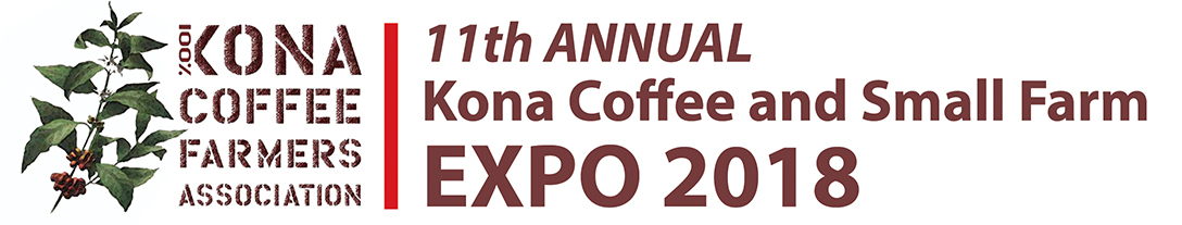 Kona Coffee and Small Farm Expo 2018